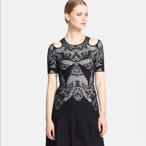 McQ by Alexander McQueen Lace Jacquard Dress